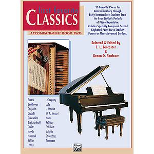 First Favorite Classics - Accompaniment Book 2 (2P, 4H)