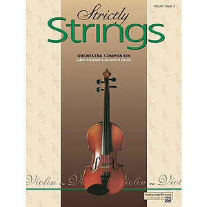Strictly Strings, Book 3: Violin