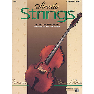 Strictly Strings, Book 3: Bass