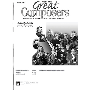 Meet the Great Composers - Book 1, Activity Sheets