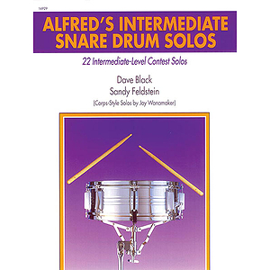 Alfred&#039;s Intermediate Snare Drum Solos