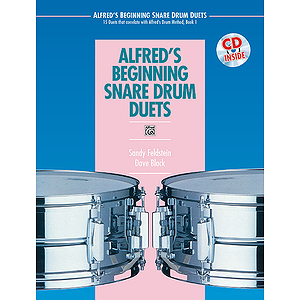 Alfred's Beginning Snare Drum Duets - Book & CD