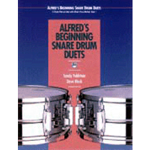 Alfred's Beginning Snare Drum Duets - CD