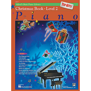 Alfred's Basic Piano Course - Top Hits! Christmas Book Level 2