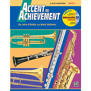 Accent on Achievement - Book 1 (Eb Alto Saxophone)