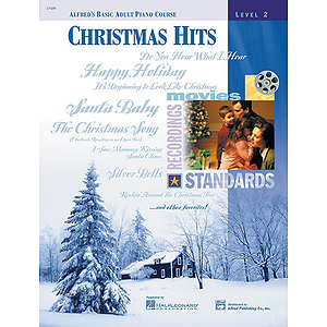 Alfred's Basic Adult Piano Course - Christmas Hits (Level 2)