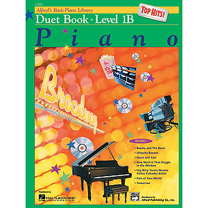 Alfred's Basic Piano Course - Top Hits! Duet Book Level 1B
