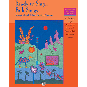 Ready To Sing… Folk Songs - Book