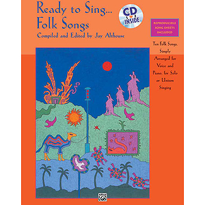 Ready To Sing… Folk Songs - Book & CD