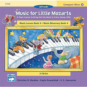Music for Little Mozarts: 2-CD Sets for Lesson and Discovery Books, Level 4