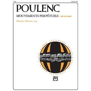 Poulenc - Mouvements Perpetuels