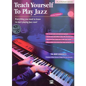 Alfred's Teach Yourself To Play Jazz At the Keyboard - Book/CD