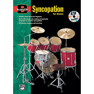 Basix Syncopation for Drums - Book &amp; CD