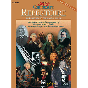 Meet the Great Composers - Book 1, Repertoire Book