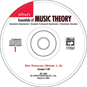 Essentials of Music Theory - Ear Training CD 1 (For Books 1 & 2)