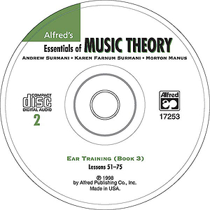 Essentials of Music Theory - Ear Training CD 2 (For Book 3)