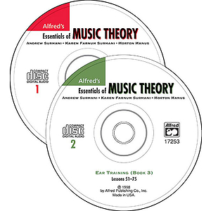 Essentials of Music Theory - Ear Training Books 1-3 (CDs)