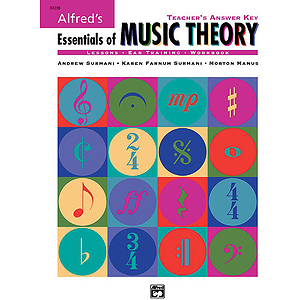 Essentials of Music Theory - Teacher's Answer Key - Book