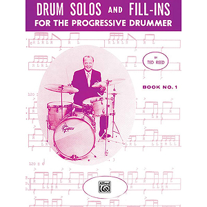Drum Solos & Fill-Ins for The Progressive Drummer - Book 1
