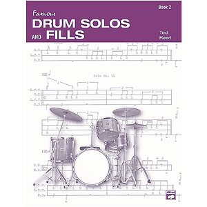 Drum Solos & Fill-Ins for The Progressive Drummer, Book 2