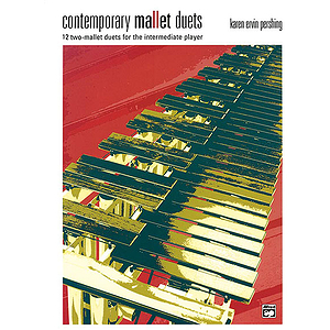 Contemporary Mallet Duets - Book