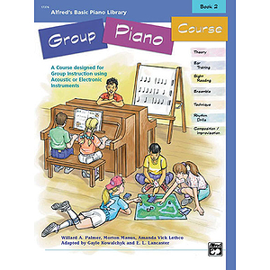 Alfred's Basic Group Piano Course - Book 2