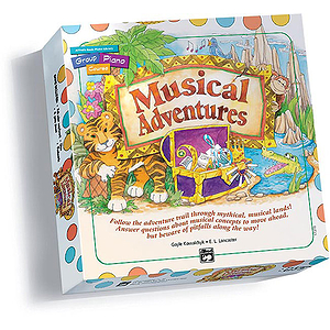 Musical Adventures Game - Board and Game Cards for Book 1 (Alfred's Basic Group Piano Course)