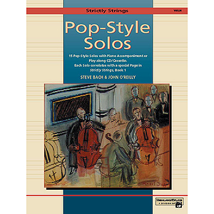 Strictly Strings Pop-Style Solos Violin - Book Only
