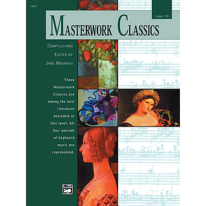 Masterwork Classics, Level 10 - Book &amp; CD