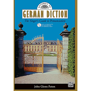 Gateway To German Diction - Book and Spoken CD