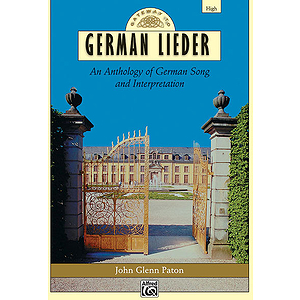 Gateway To German Lieder - Book (High)