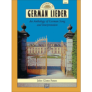 Gateway To German Lieder - Book (Low)