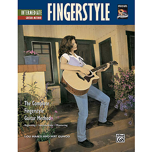 Intermediate Fingerstyle Guitar - Book & CD