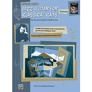 Jazz Guitar for Classical Cats: Harmony - Book
