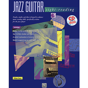 Jazz Guitar Sight-Reading - Book & CD