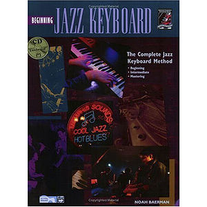 Beginning Jazz Keyboard - Book/CD