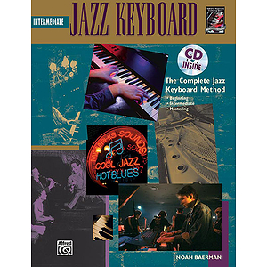 Intermediate Jazz Keyboard - Book & CD