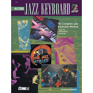 Mastering Jazz Keyboard - Book