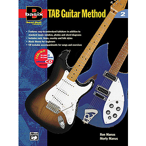 Basix Tab Guitar Method, Book 2 - Book & Enhanced CD