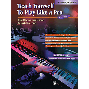 Alfred's Teach Yourself To Play Like A Pro At the Keyboard - Book
