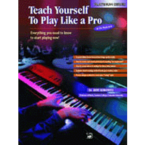 Alfred's Teach Yourself To Play Like A Pro At the Keyboard - CD