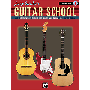 Jerry Snyder's Guitar School - Method Book 1 - Book