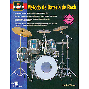 Basix Rock Drum Method (Spanish Edition) Book & CD