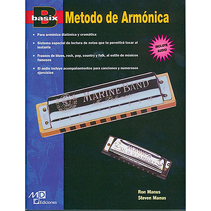 Basix Harmonica Method (Spanish Edition) Book & CD