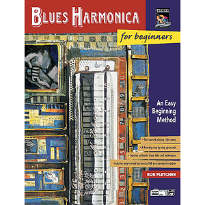 Blues Harmonica for Beginners - Book