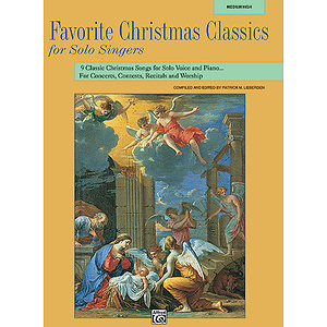 Favorite Christmas Classics for Solo Singers - Book (Medium High)