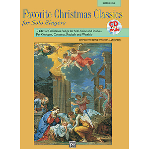 Favorite Christmas Classics for Solo Singers - Book and Accompaniment CD (Medium High)