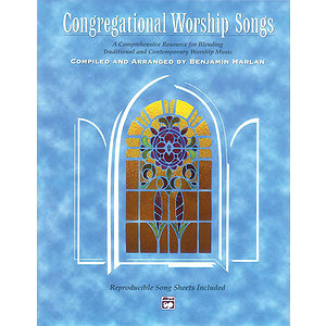 Congregational Worship Songs - Songbook (Spiral-Bound W/ Reproducible Sheets)