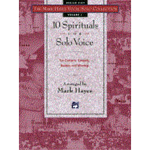 Mark Hayes Vocal Solo Collection: 10 Spirituals for Solo Voice - Accompaniment CD (Medium High)
