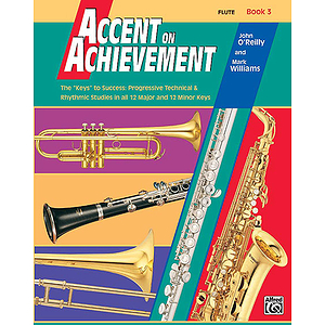 Accent on Achievement, Book 3: Flute